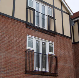 Balconies and Balustrades